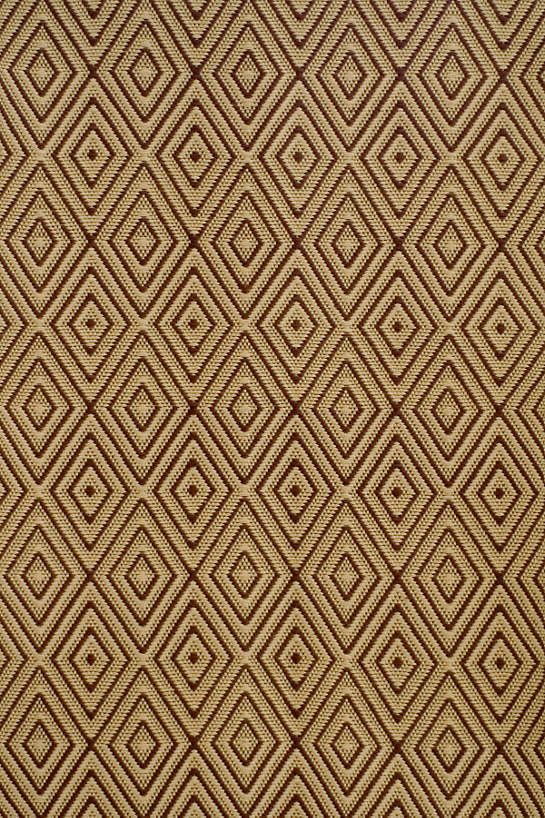 Diamond Brown/Khaki Indoor/Outdoor Rug