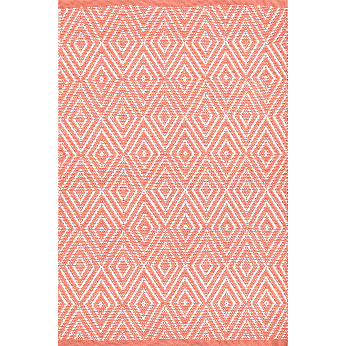 Diamond Coral White Indoor Outdoor Rug Dash Amp Albert