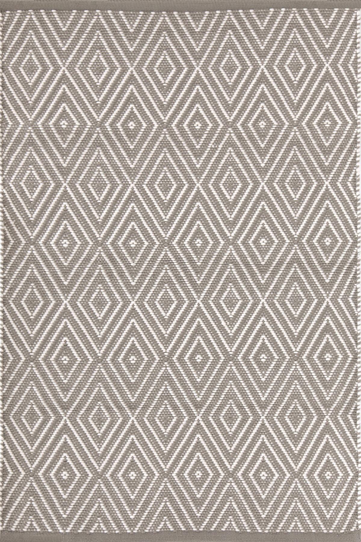 Diamond Fieldstone/Ivory Indoor/Outdoor Rug