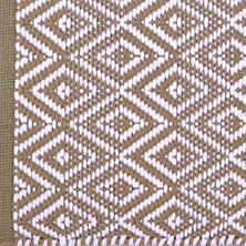 Diamond Khaki/White Placemats/ set of 4