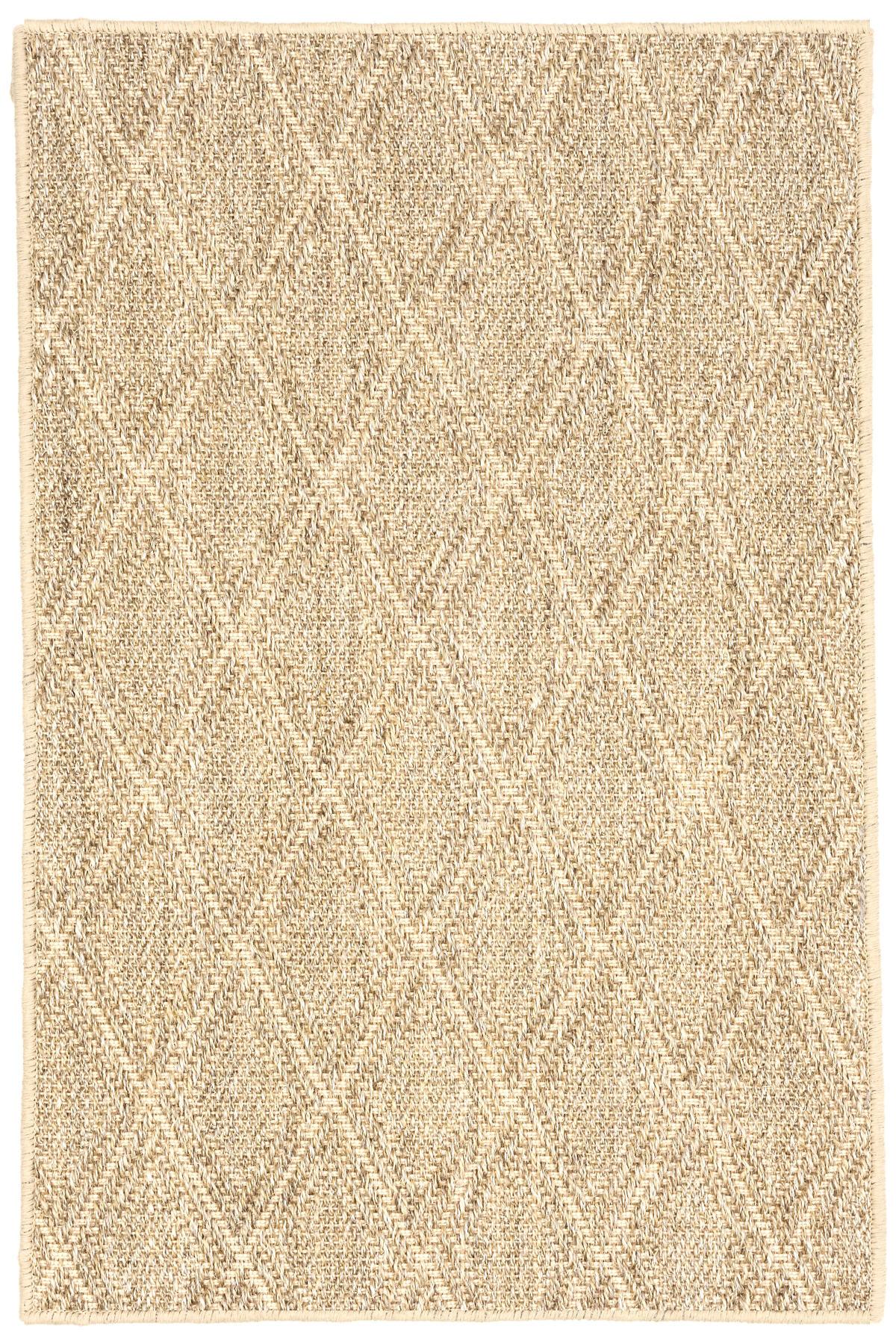 diamond sand woven sisal rug