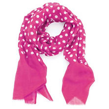Dots Flamingo Scarf