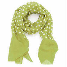 Dots Lime Scarf