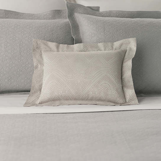 Dots Zinc Decorative Pillow
