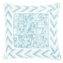 Durbar Turquoise Decorative Pillow