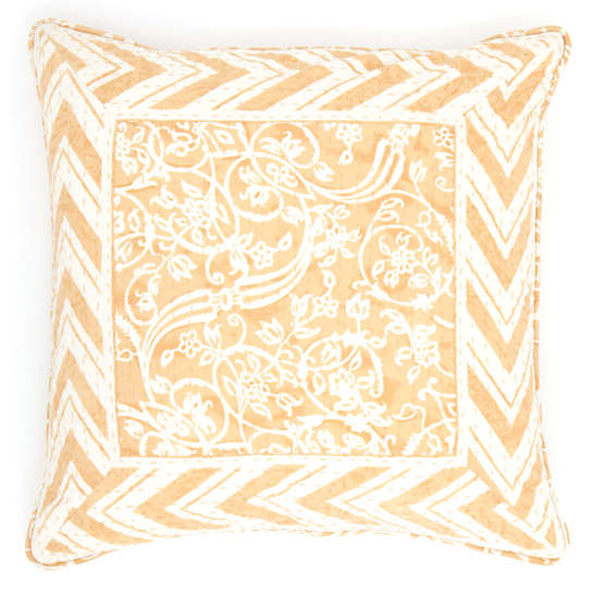 Durbar Yellow Decorative Pillow