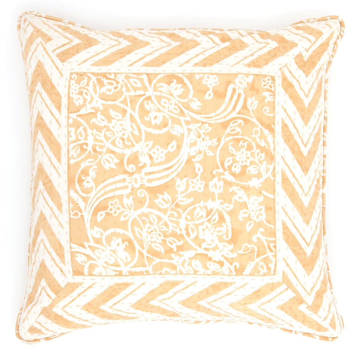 Durbar Yellow Decorative Pillow