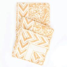Durbar Yellow Throw