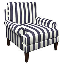 Alex Indigo Easton Chair