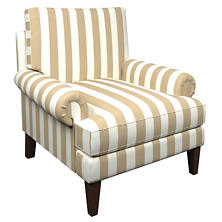Alex Linen Easton Chair