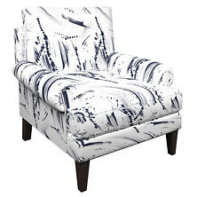 Brushstroke White Easton Chair
