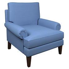 Estate Linen French Blue Easton Chair