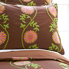 Edelweiss Crewel Coco Duvet Cover