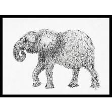 Elephant Letters 1 Art