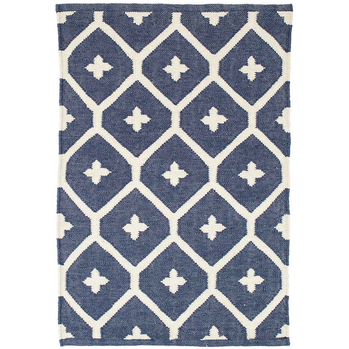Blue Outdoor Rug 9x12: Elizabeth Navy Indoor/Outdoor Rug