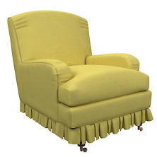 Estate Linen Citrus Ellis Chair