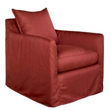 Enjoy The View Outdoor Chair Red Heathered