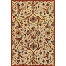 Essex Cinnamon Wool Tufted/Carved  Rug