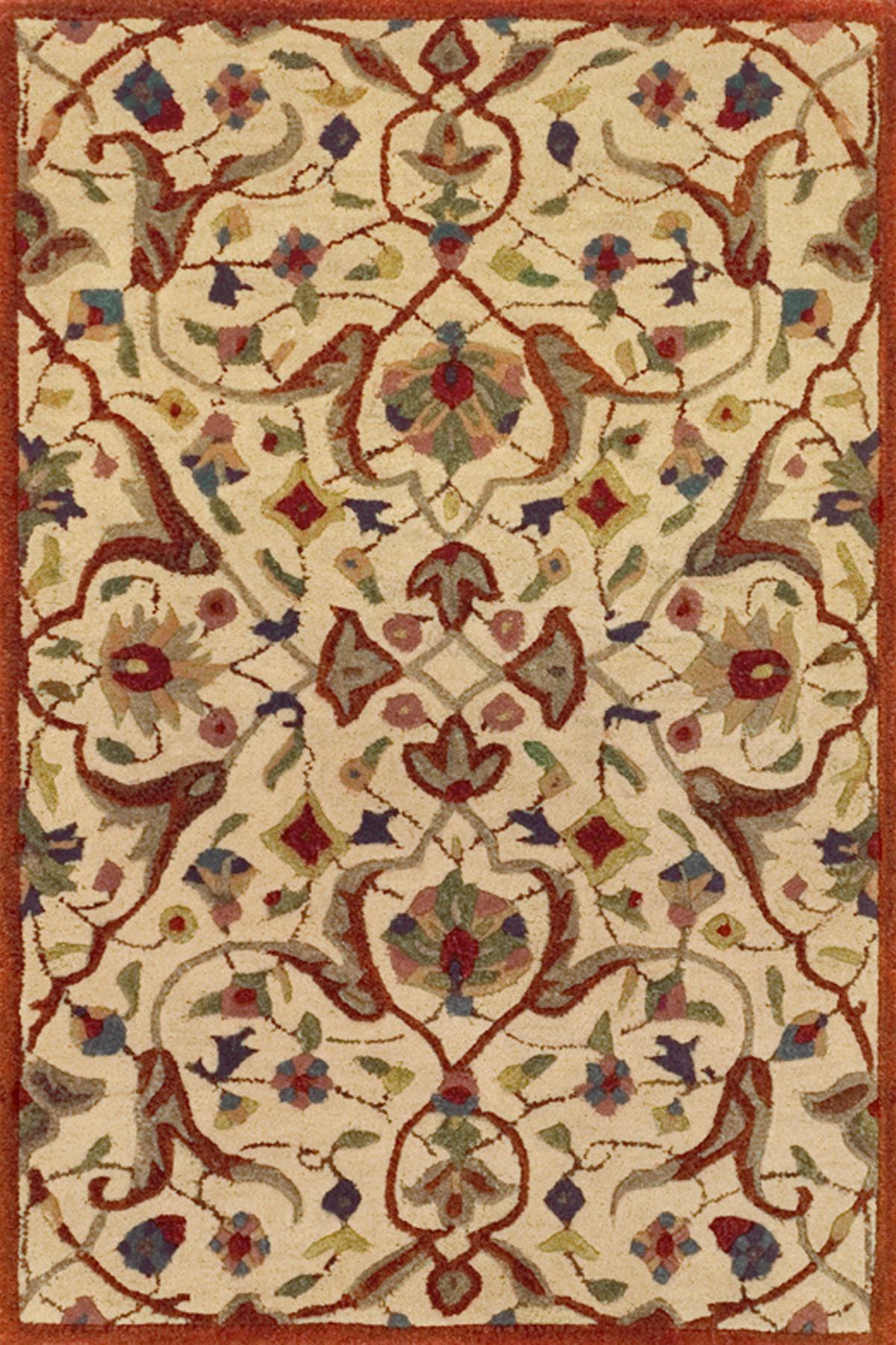 Essex Cinnamon Tufted Wool Rug