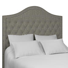 Chevron Indigo Essex Headboard