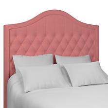Estate Linen Coral Essex Headboard