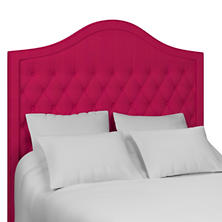Estate Linen Fuchsia Essex Headboard
