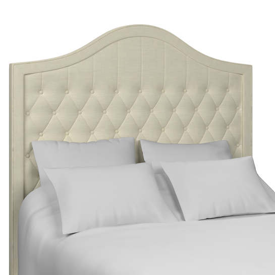Estate Linen Ivory Essex Headboard