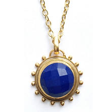Everett Lapis Necklace