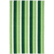 Evergreen Ticking Woven Cotton Rug