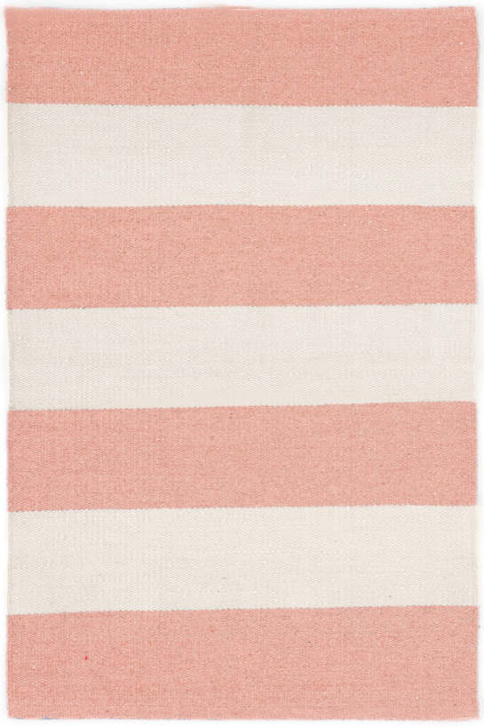Falls Village Stripe Pink Indoor/Outdoor Rug