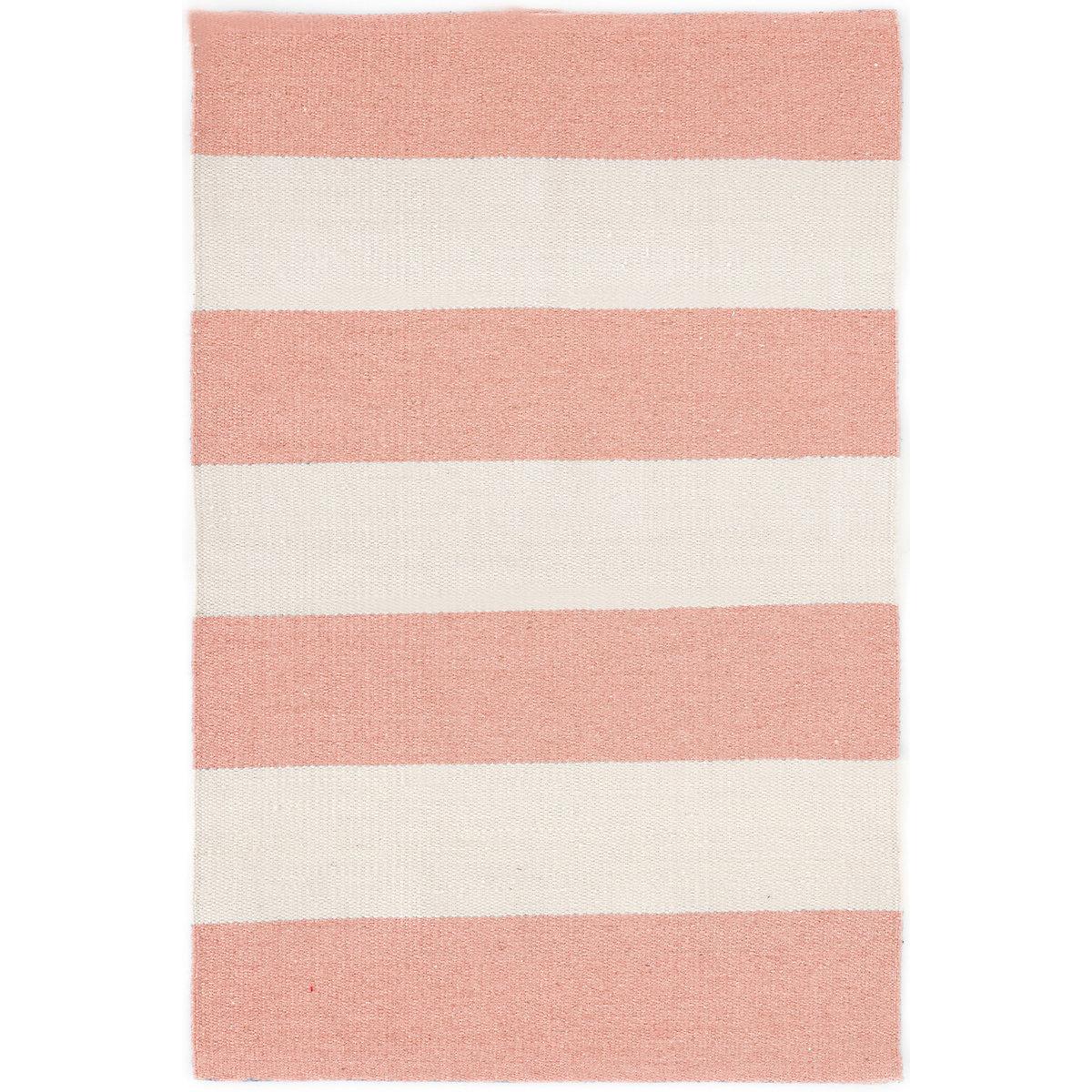 Falls Village Stripe Pink Indoor/Outdoor Rug
