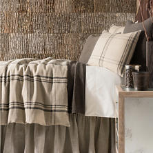 Farmhouse Linen Java/Natural Duvet Cover