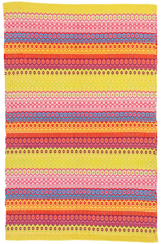 Fiesta Stripe Multi Indoor/Outdoor Rug