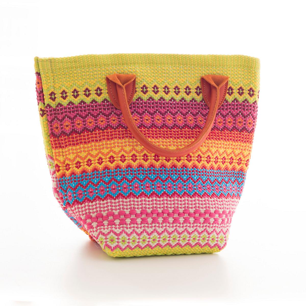 Le Tote Fiesta Stripe Multi Tote Bag