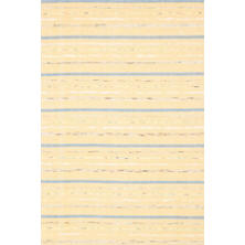 Fine Rag Yellow Woven Cotton Rug
