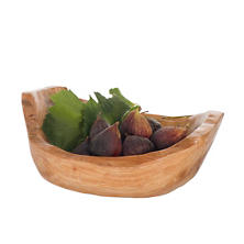 Fir Wood Shallow Bowl