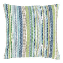 Fisher Ticking Woven Cotton Decorative Pillow