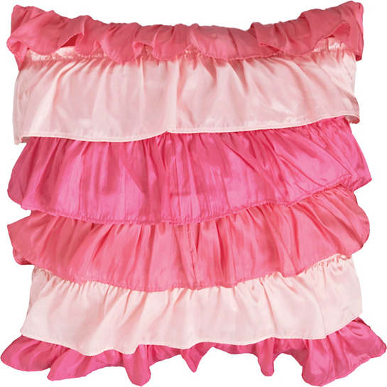 Flamenco Pink Decorative Pillow