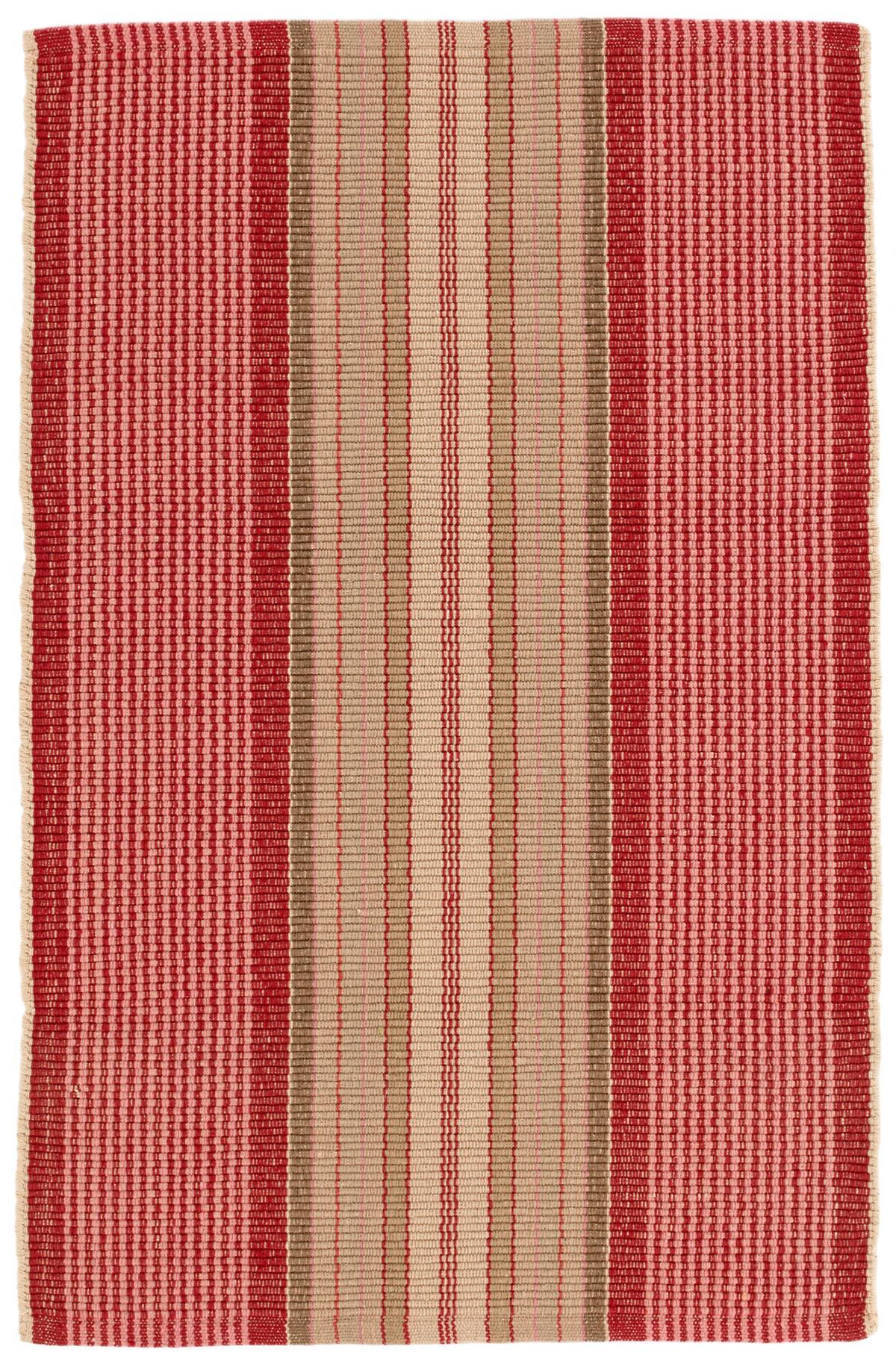 Framboise Woven Cotton Rug