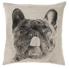 French Bull Natural Decorative Pillow