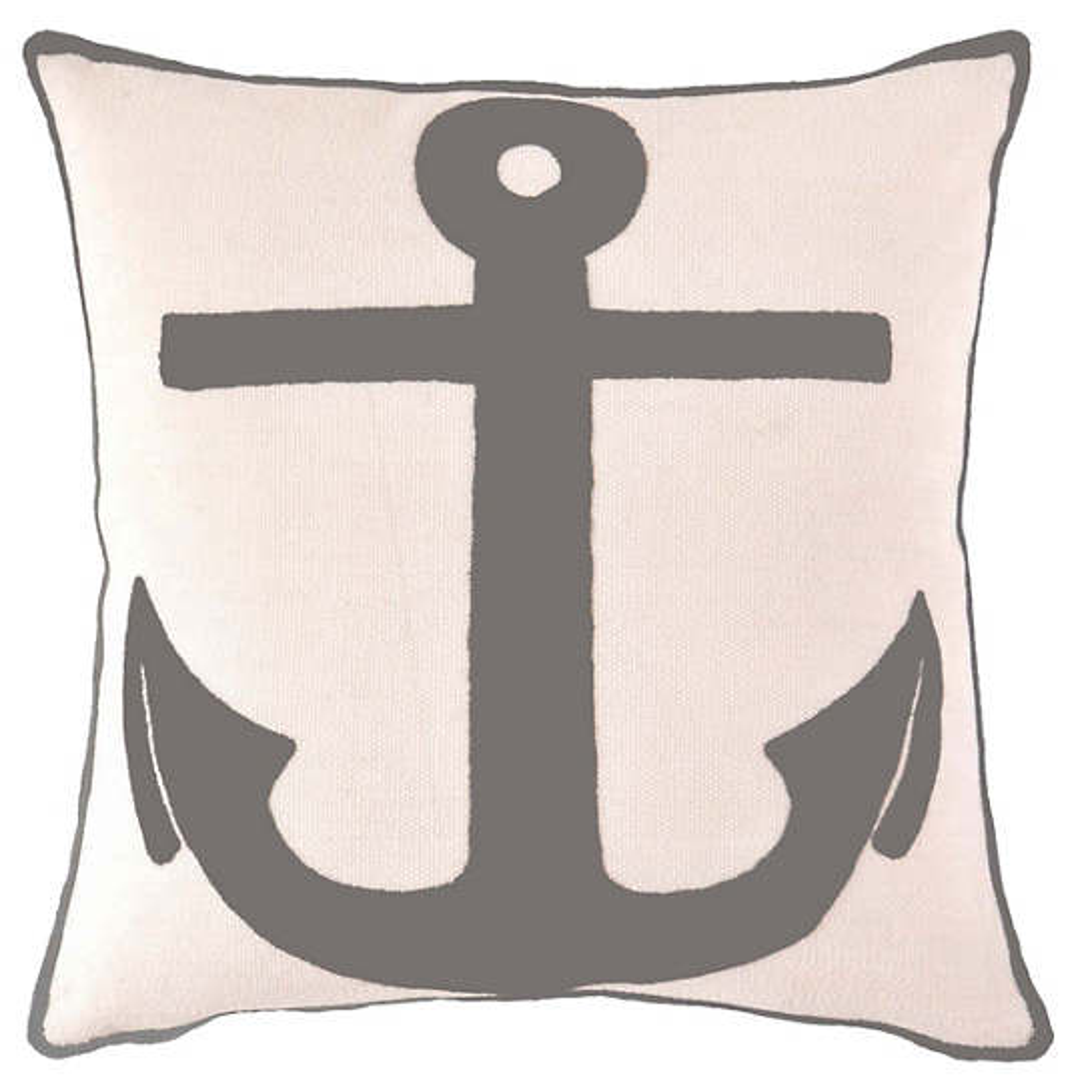 Fresh American Admiral Graphite Indoor/Outdoor Pillow
