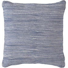 Fresh American Mingled Denim Indoor/Outdoor Pillow