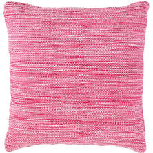 Fresh American Mingled Fuchsia Indoor/Outdoor Pillow