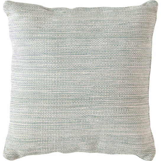 Fresh American Mingled Light Blue Indoor/Outdoor Pillow