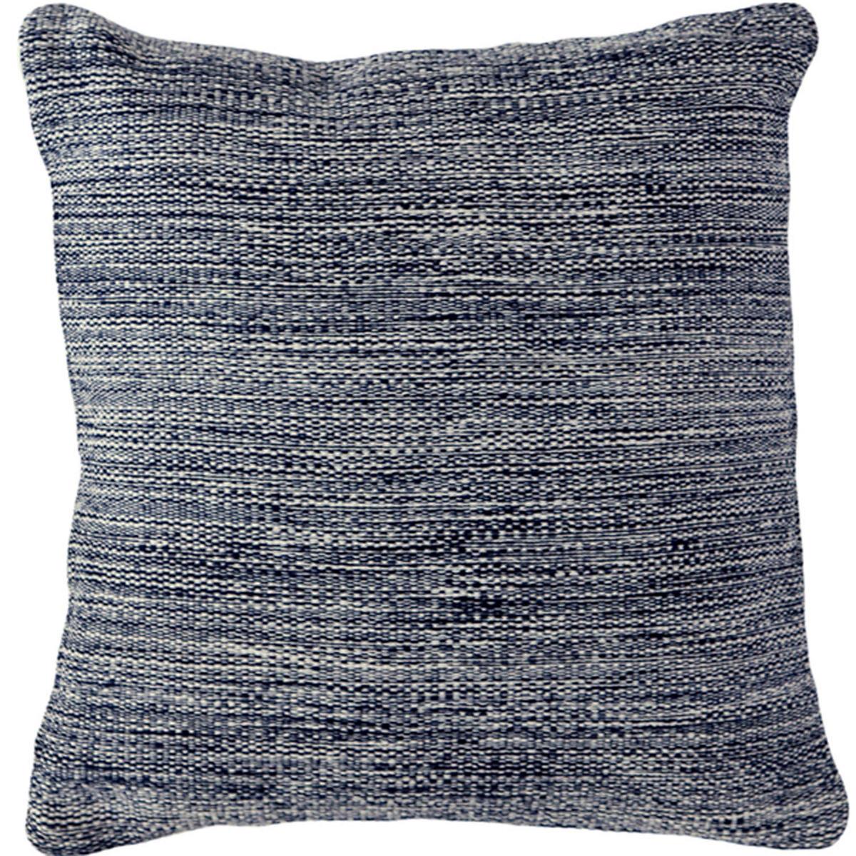 Mingled Navy Indoor/Outdoor Pillow