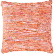 Fresh American Mingled Tangerine Indoor/Outdoor Pillow