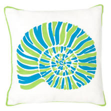 Nautilus Apple Indoor/Outdoor Pillow