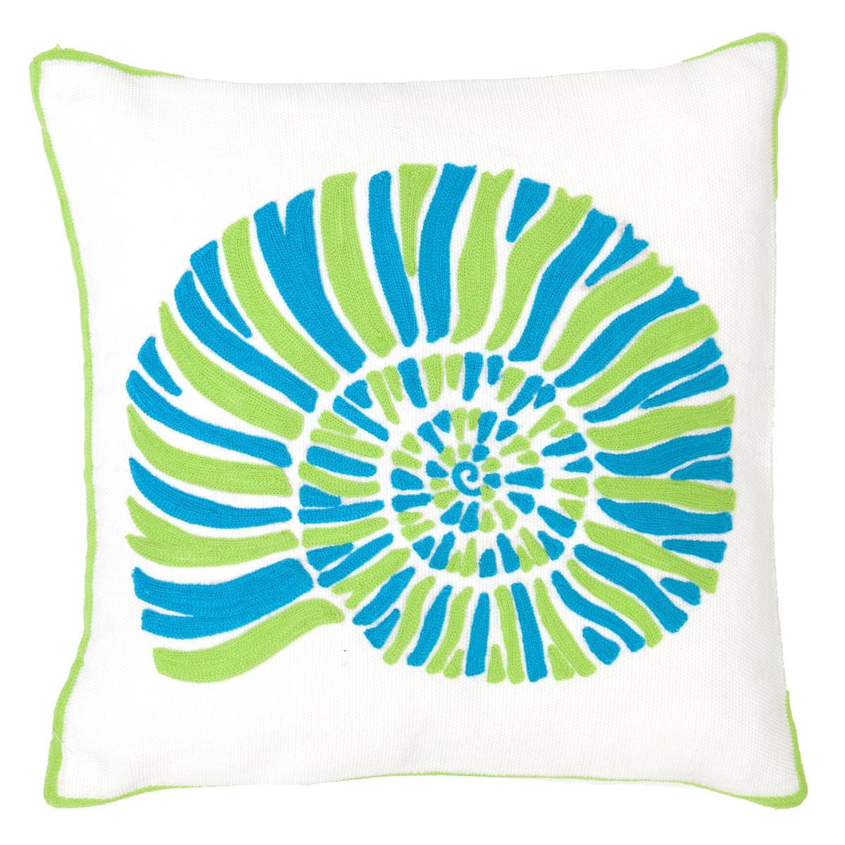 Fresh American Nautilus Apple Indoor/Outdoor Pillow