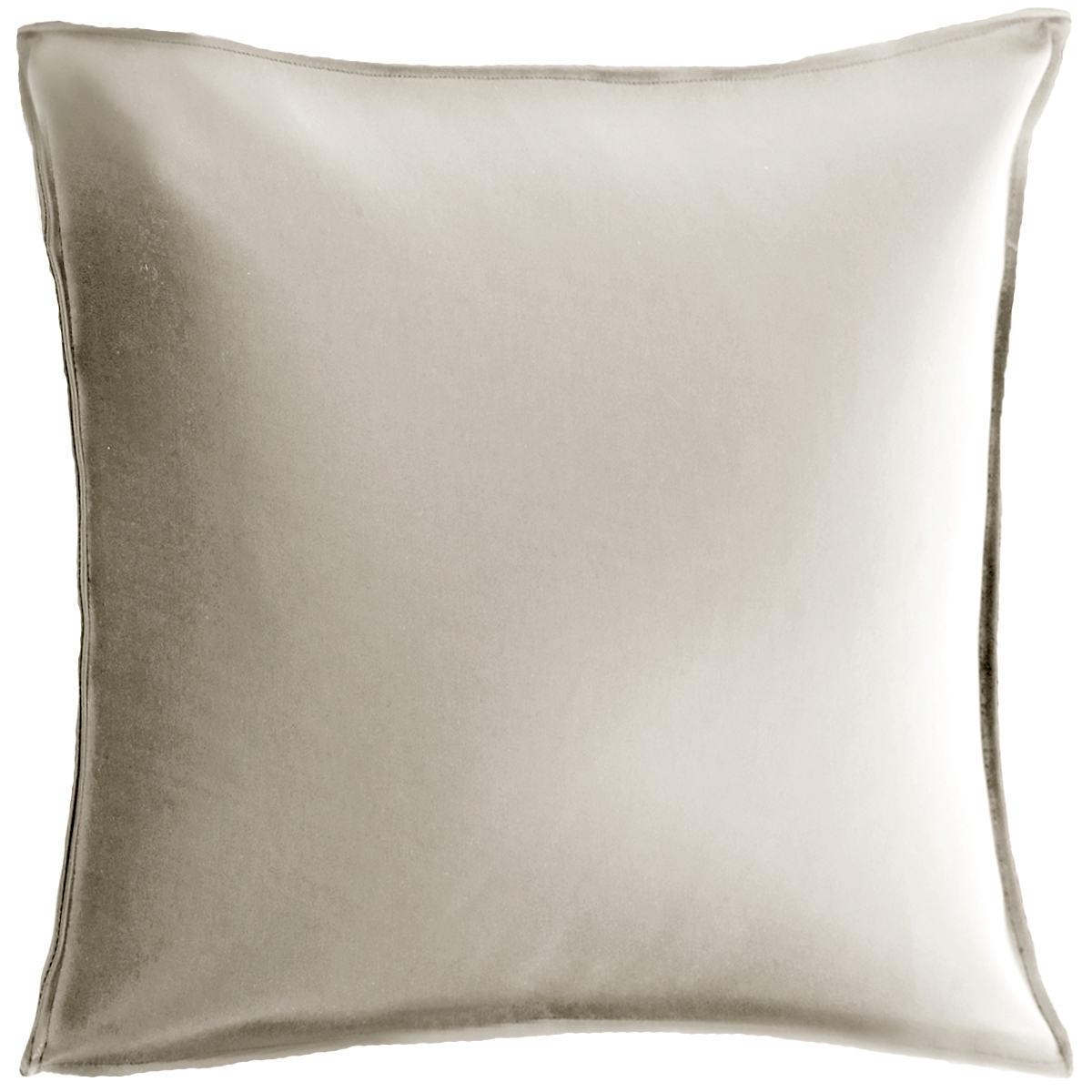 Fresh American Preservation Silver Decorative Pillow