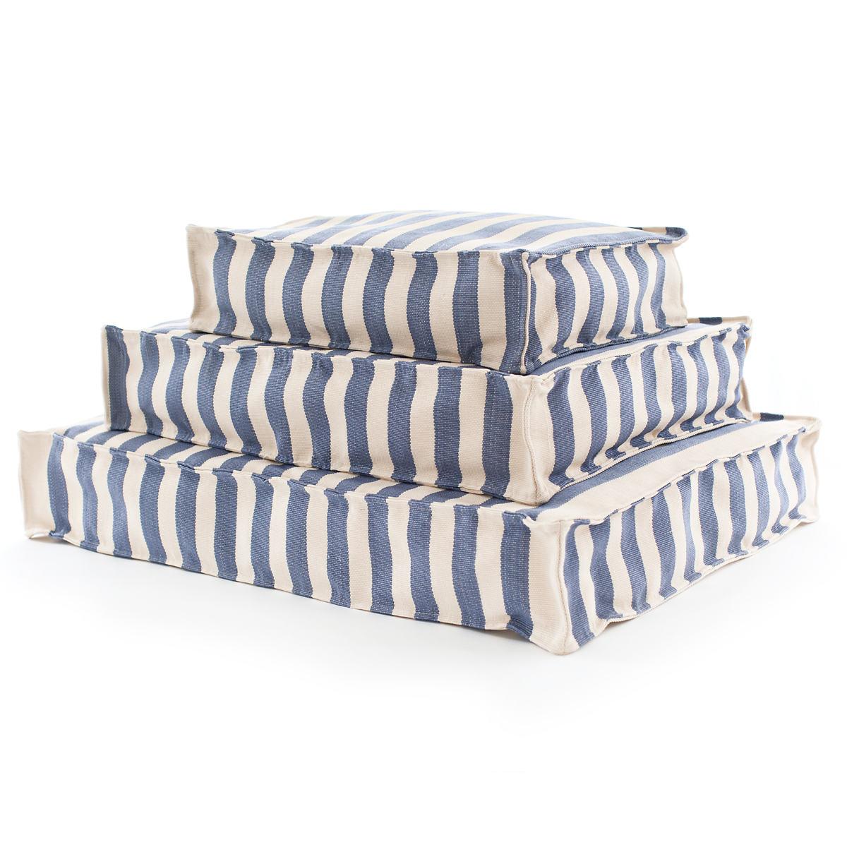 Trimaran Stripe Denim/Ivory Indoor/Outdoor WOUF™
